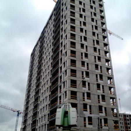 Съемки фасадов зданий, создание 3d моделей