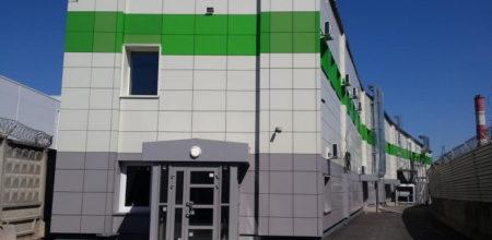 Обмеры производственно-складского помещения сети магазинов «Азбука Вкуса»