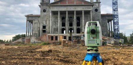 Лазерное сканирование церкви в городе Челябинск